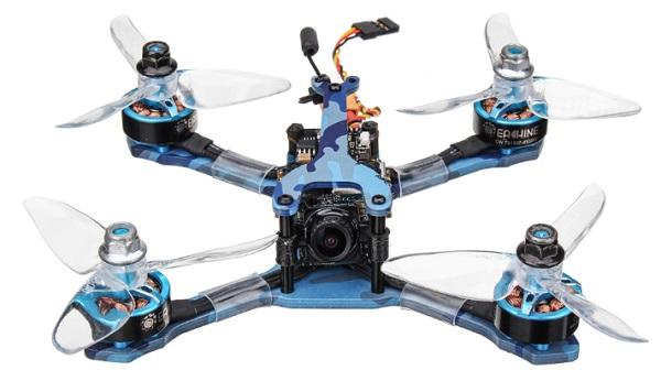 Eachine Wizard TS130 drone design
