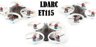 LDARC ET115 FPV drone quadcopter