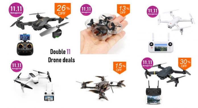 Hottest 11.11 Drone Deals (2018)