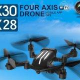 Bayangtoys X28 & X30 GPS drones