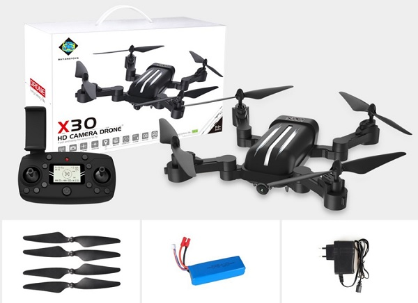 Bayangtoys X28 & X30 package content