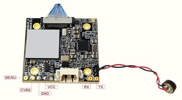 Caddx Turtle V2 DVR board