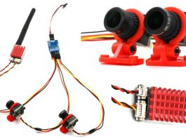 Dual Camera System for FPV drones