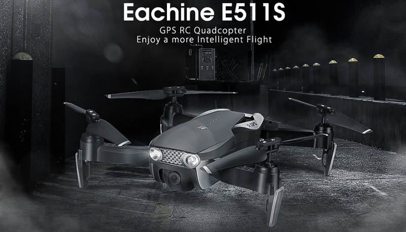 Eachine E511S GPS drone: Features & specs | First Quadcopter