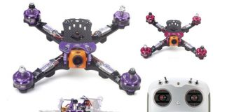 GARTT Scorpion AFRC QR210 drone