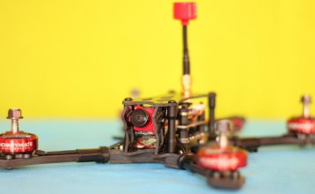 "HOBBYMATE 5"" COMET VX220 drone review"