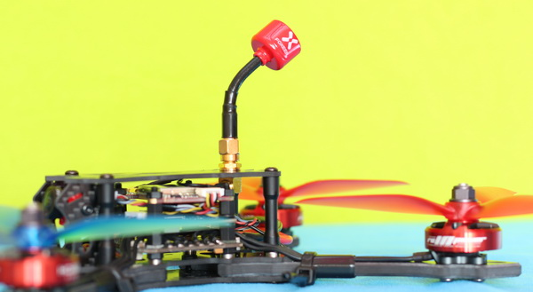 "HOBBYMATE 5"" COMET VX220 review: VTX antenna"