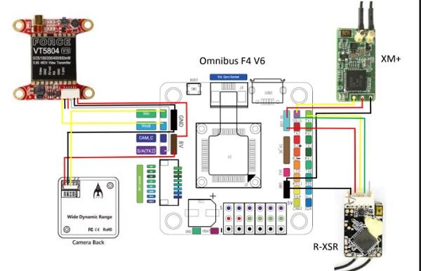 "HOBBYMATE 5"" COMET VX220 review: Wiring diagram"
