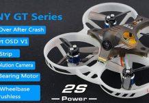 LDARC/Kingkong GT7 & GT8 FPV drone