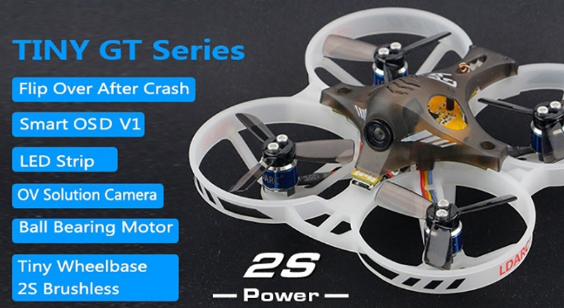 LDARC/Kingkong GT7 & GT8: Two micro brushless Whoops | First