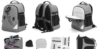 FPV racing drone backpack by Realacc