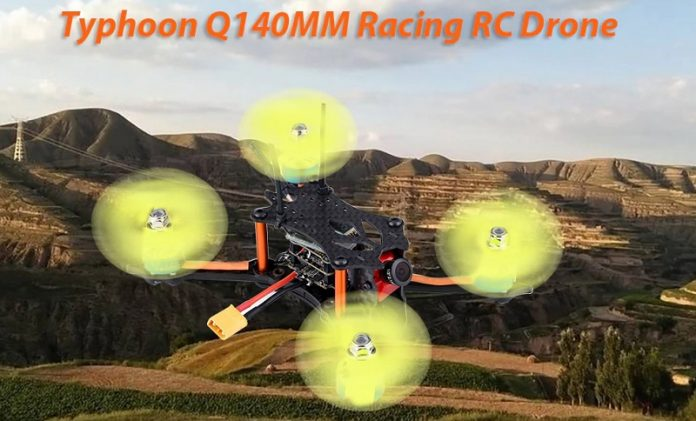 Typhoon Q140 FPV racing drone