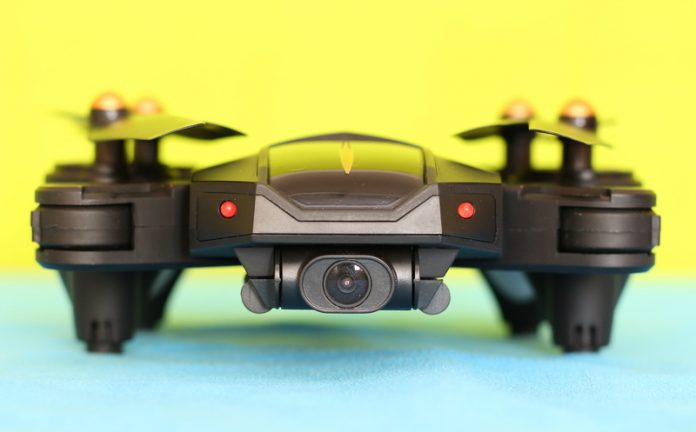 VISUO XS812 GPS drone quadcopter review