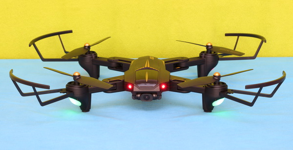 VISUO XS812 GPS drone review: Design