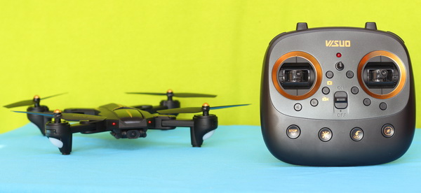 VISUO XS812 GPS drone review: Introduction