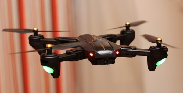 VISUO XS812 GPS drone review: Test flight