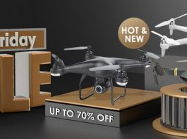 Black Friday & Cyber Monday Drone Deals (2018)