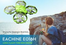 Eachine E016H Mini cheap kids drone