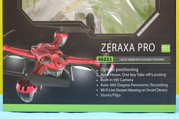 Lefant Zeraxa Pro drone review: Box