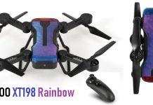 SIMTOO Rainbow XT198 drone quadcopter