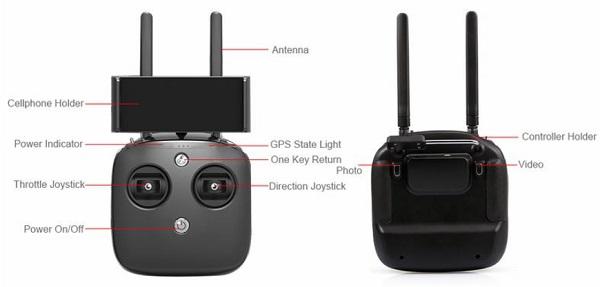 ATTOP W remote controller