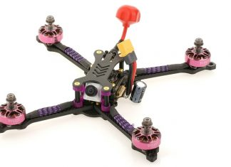 Airbot TD215 FPV racing drone