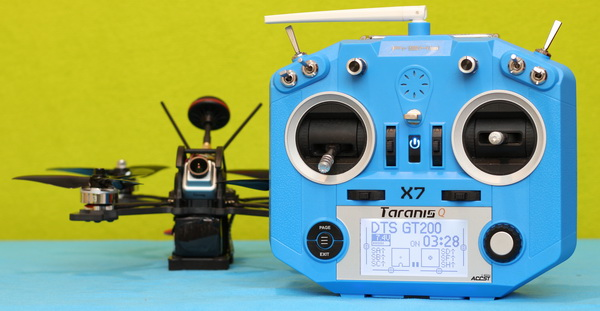 DTS GT200 drone review: Transmitter binding