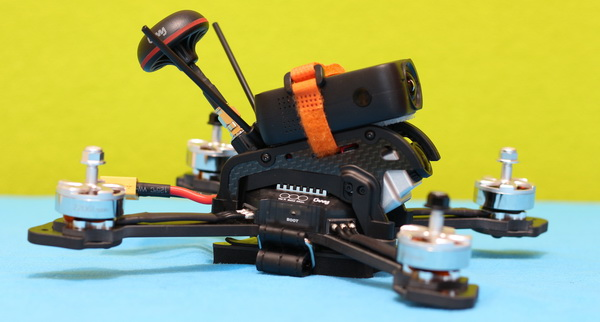 DTS GT200 drone review: Second camera