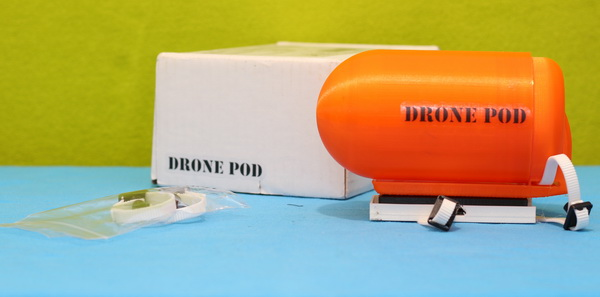 Drone Pod review: Un-boxing