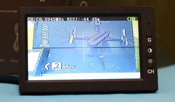 Eachine EX2 Mini review: FPV monitor