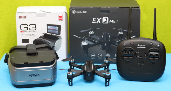 Eachine EX2Mini review: Package content