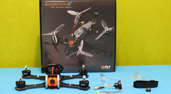 GOFly-RC Scorpion5 review: Box content