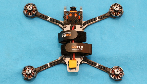 GOFly-RC Scorpion5 review: Frame design