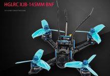 HGLRC XJB 145mm FPV quadcopter