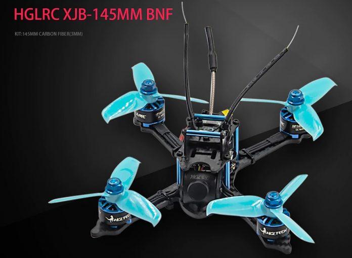 HGLRC XJB 145mm FPV quadcopter