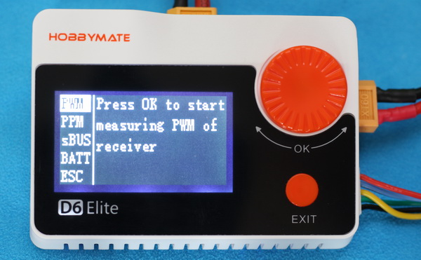 HobbyMate D6 Elite review: Measures mode