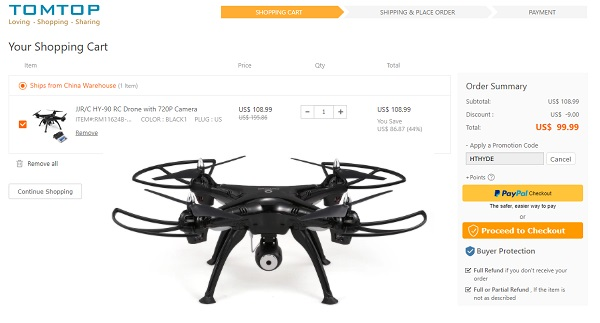 JJRC HY-90 discount code