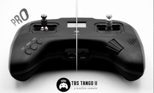 TBS Tango 2 PRO buttons and switches