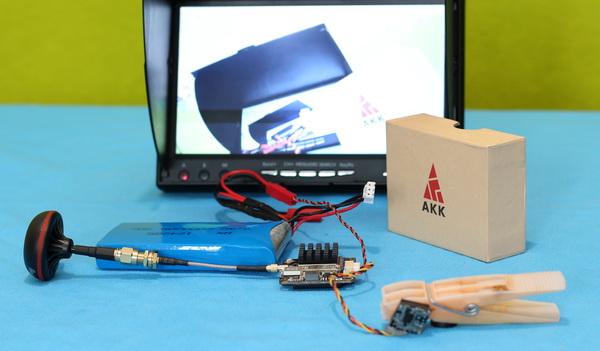 AKK FX2-Dominator 2W VTX review: Test setup