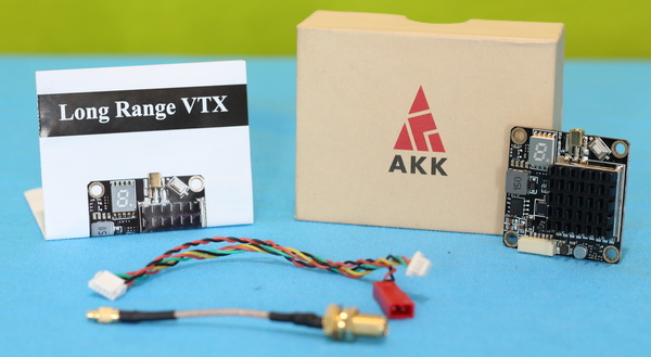 AKK FX2-Dominator 2W VTX review: Verdict