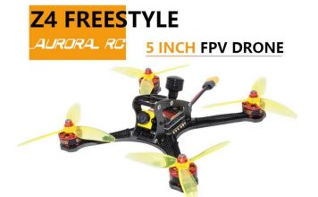 AuroraRC Z4 Freestyle FPV Racing drone