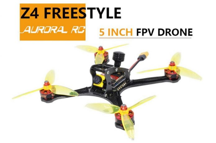 AuroraRC Z4 Freestyle FPV Racing drone