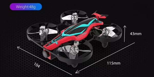 Eachine E013Plus size and weight
