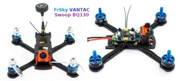 FrSky VANTAC Swoop BQ130 V2 FPV racing drone
