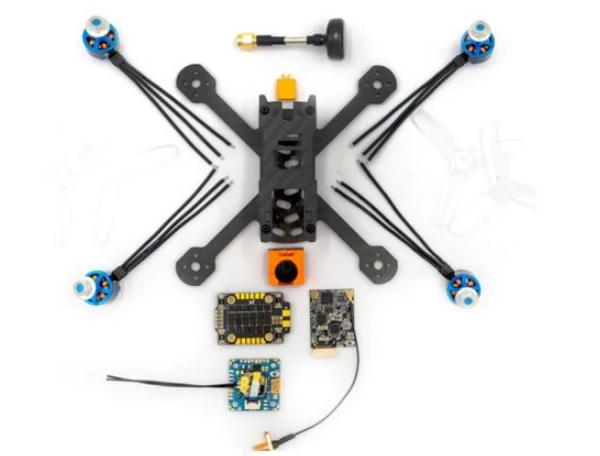 FrSky VANTAC Swoop BQ130 V2 components
