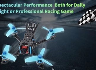 HGLRC Arrow3 FPV racing drone