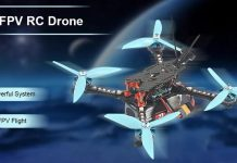 SKYSTARS RXT-X219 FPV racing drone