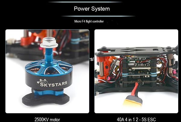 SKYSTARS RXT-X219 power system