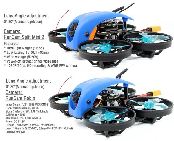 SPC Maker Mini Whale Standard Vs Mini Whale HD 78mm