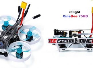 iFlight CineBee 75 HD fpv drone